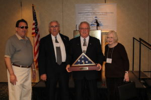 New Jersey's Michael McFadden wins BellTel's special volunteer of the year award in 2009.